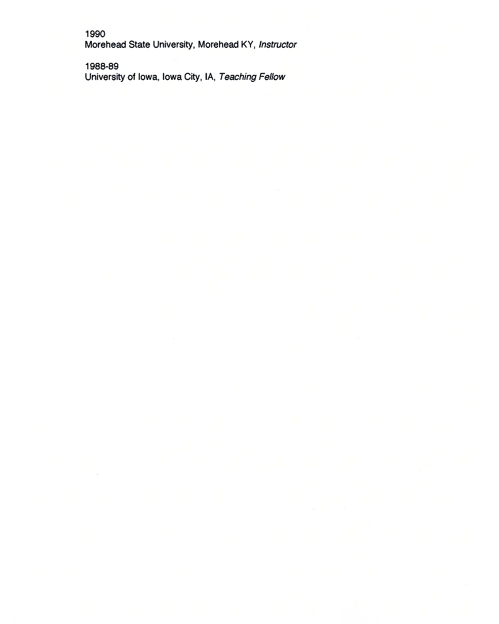 Cynthia Lin's Resume, pg 4